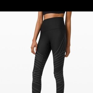 """Lululemon Mapped Out Running Tight 28"""""""